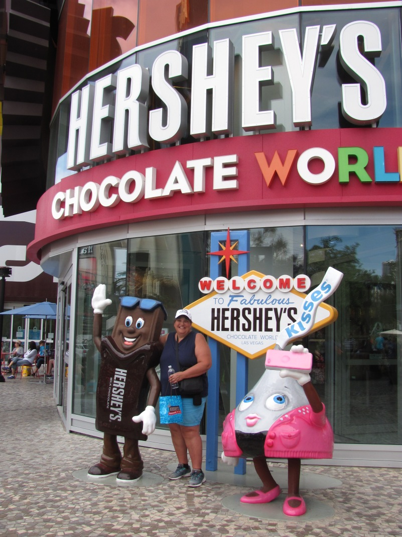 Sherry at Hershey's Choc World