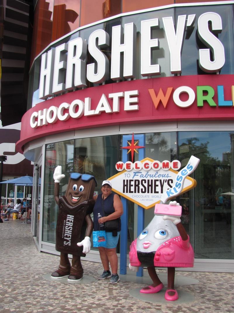 Sherry at Hershey's Choc World