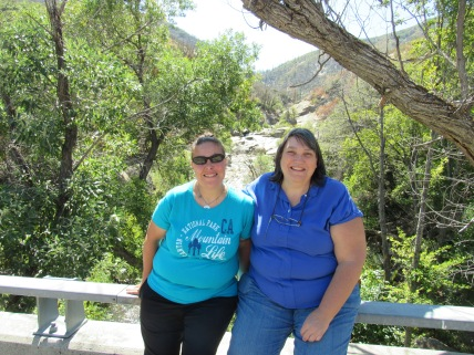 Erika and Sherry at 10 Mile Creek (2)